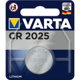 Varta CR 2025 Primary Lithium Button Batteria monouso CR2025 Litio