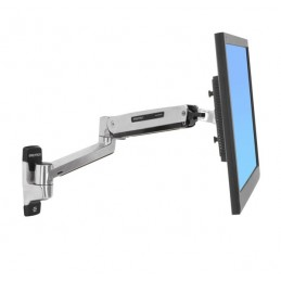 "Ergotron LX Sit-Stand Wall Mount LCD Arm 106,7 cm (42"") Acciaio inossidabile"