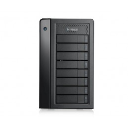 Promise Technology Pegasus3 Symply Edition R8 array di dischi 32 TB Tower Nero