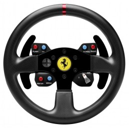 Thrustmaster Ferrari 458 Challenge Wheel Add-On Volante PC,Playstation 3 USB 2.0 Nero