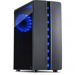 Inter-Tech 88881309 computer case ITX-Tower Nero