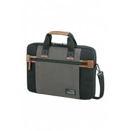 "Samsonite Sideways borsa per notebook 39,6 cm (15.6"") Custodia a tasca Nero, Grigio"