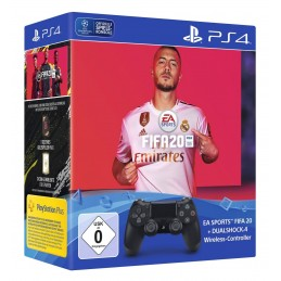 Sony DualShock 4 + EA Sports FIFA 20 Gamepad PlayStation 4 Analogico Digitale Bluetooth USB Nero
