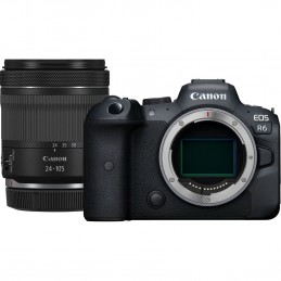 Canon EOS R6 + RF 24-105mm F4-7.1 IS STM MILC 20,1 MP CMOS 5472 x 3648 Pixel Nero