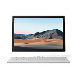 "Microsoft Surface Book 3 Ibrido (2 in 1) Platino 34,3 cm (13.5"") 3000 x 2000 Pixel Touch screen Intel® Core™ i7 di decima"
