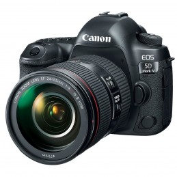 Canon EOS 5D Mark IV + EF 24-105mm f 4L IS II USM Kit fotocamere SLR 30,4 MP CMOS 6720 x 4480 Pixel Nero