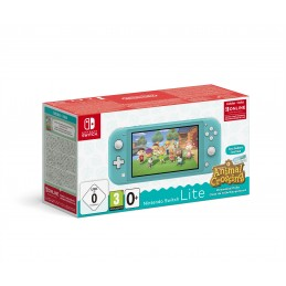Nintendo Switch Lite (Turquoise) Animal Crossing  New Horizons Pack + NSO 3 months (Limited) console da gioco portatile