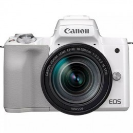 Canon EOS M50 Mark II Wit + 18-150 mm IS STM Zilver